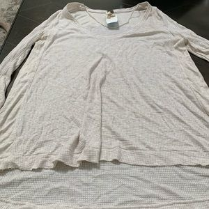 New Free People Henley with thumb hole